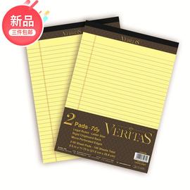 凯萨 维塔斯系列 Legal pad经典拍纸本A4横线美式拍纸本可撕活页加厚便签本 A5方格美式笔记本 随行记事本