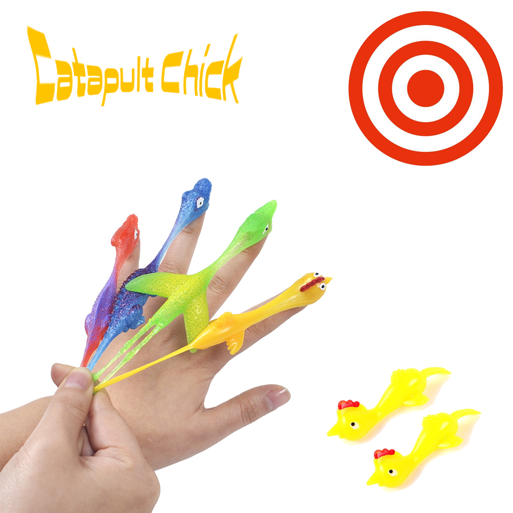 Catapult Launch Turkey Fun and Tricky Slingshot Chick
