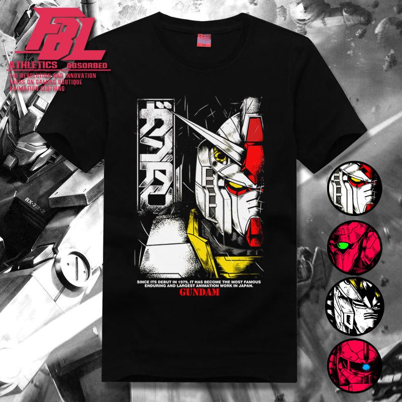 福霸狼元祖RX78 Gundam机动战士高达40周年t恤男短袖联名独角兽潮