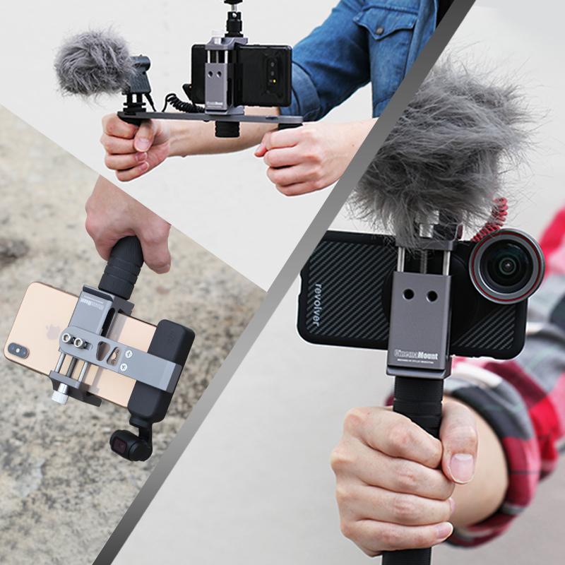 DJI大疆灵眸OSMO POCKET手机摄影夹稳定兔笼固定支架口袋相机配件