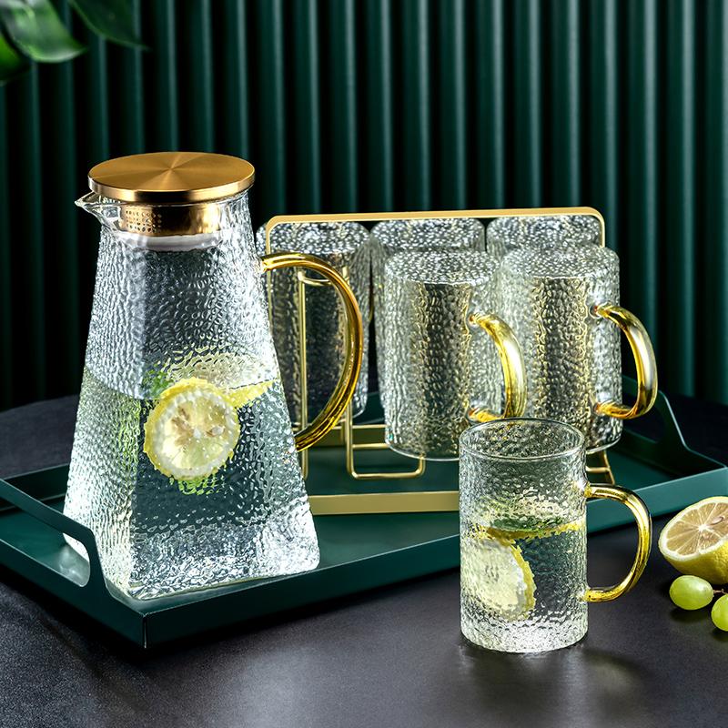 轻奢下午花茶茶具水果茶壶套装花茶杯加热茶壶套装家用玻璃耐高温
