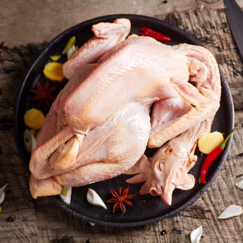 德青源生态老母鸡整只装1.2kg*2