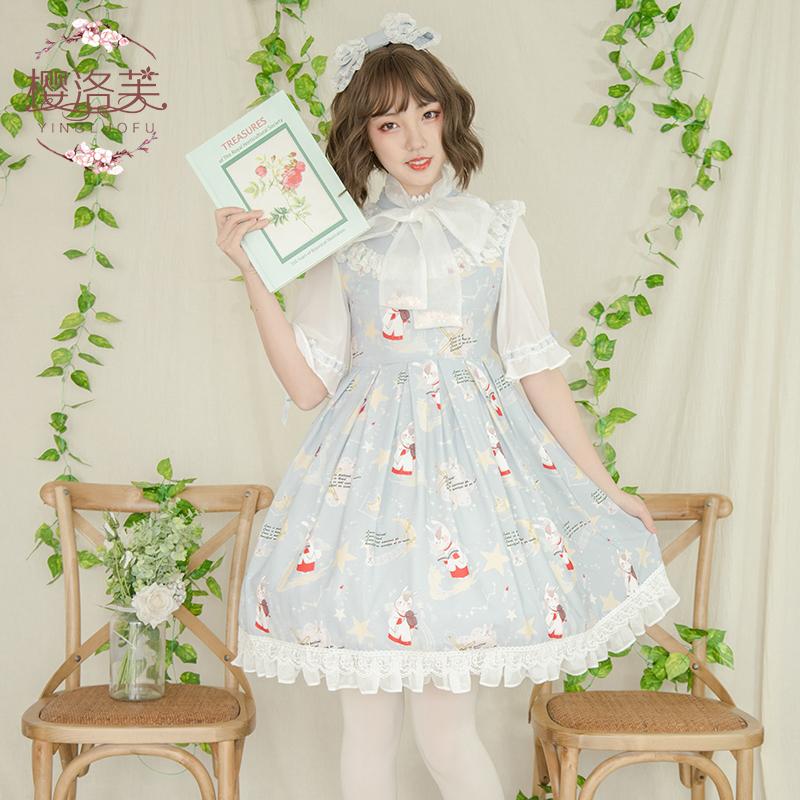 樱洛芙 洛丽塔原创设计 唱诗班OP裙lolita田园风洋装连衣裙全套券后350.00元