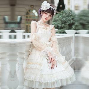 樱洛芙原创Lolita星夜SP花嫁Lo裙华丽优雅茶会漫展