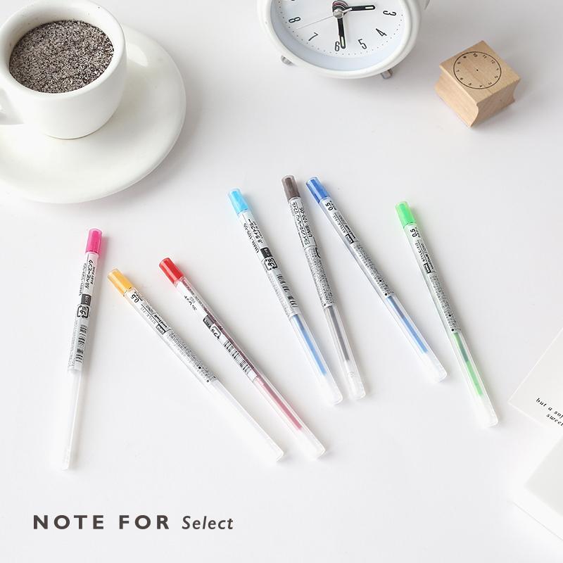 精选日本日本三菱STYLE FIT系列模块中性笔芯0.5mm16色全 随意装