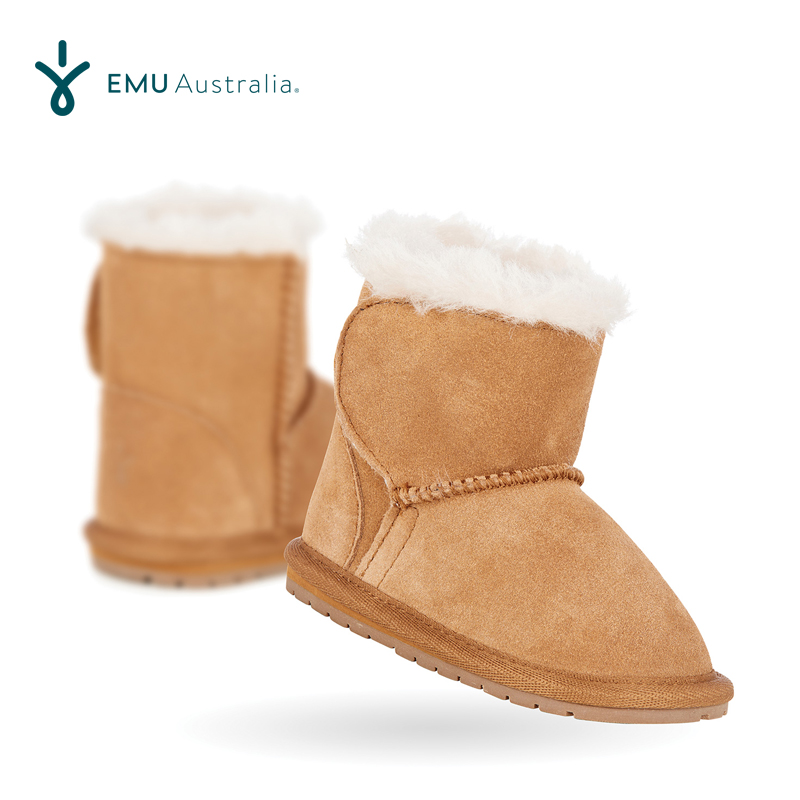 Emuustralia Australia childrens snow boots boys and girls baby shoes baby snow boots warm and breathable