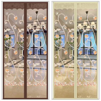 魔术贴防蚊门帘卧室静音磁性加密家用纱门沙窗纱网纱窗自粘型通风