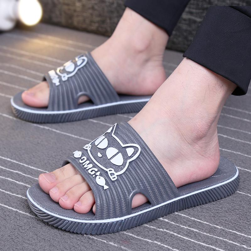大码拖鞋男士夏家用室内防滑2021新款特大码软底塑料居家凉拖鞋男