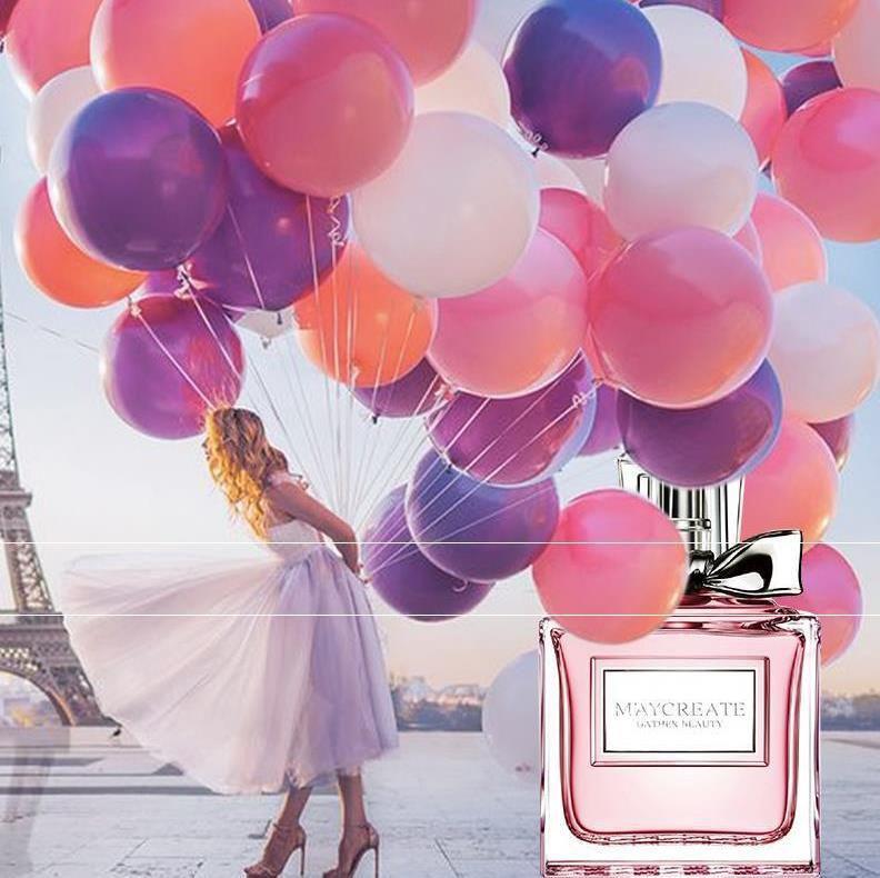 粉色生日礼物连衣裙花果爆款夏天学生魅惑气味海洋精选女人味新品