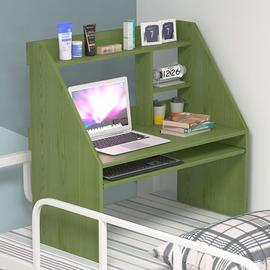 床上书桌笔记本电脑桌大学生宿舍上铺家用懒人寝室简约写字小桌子