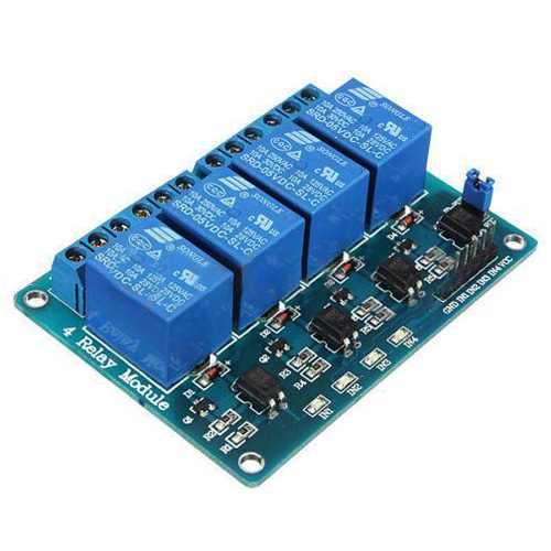 5V 4 Channel Relay Board Module Optocoupler LED for Arduino,可领取元淘宝优惠券
