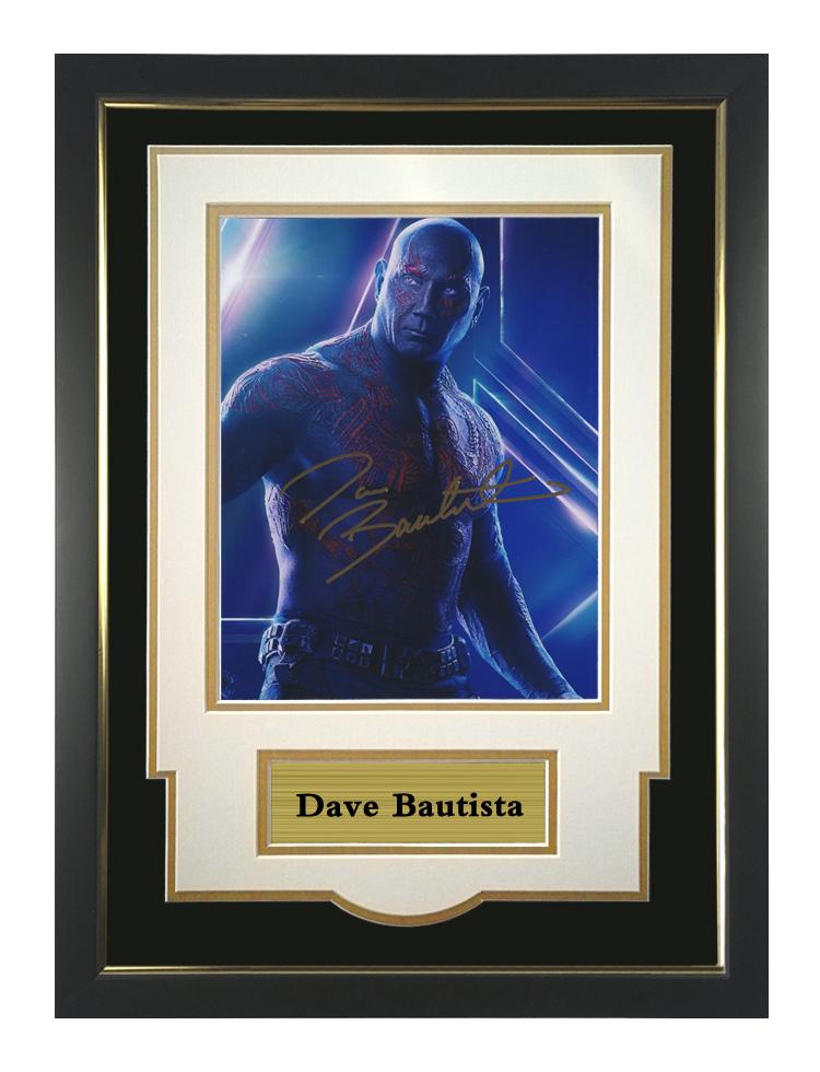 漫威银河护卫队银河护卫队戴夫巴蒂斯塔亲笔签名照片 含证书