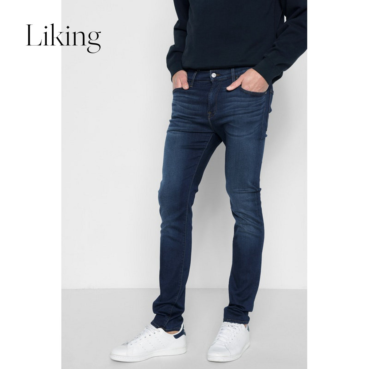7 for all mankind Severn Fu Ao Mander men's jeans