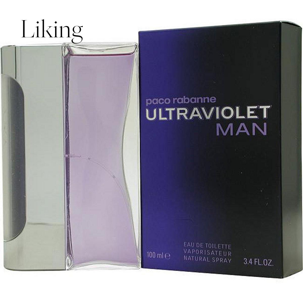 paco rabanne帕高 Ultraviolet 紫外线 男士淡香水EDT 100ml 美国