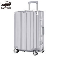 Cardillo suitcase male and female password pull-rod suitcase universal wheel 24 inch ins net red suitcase 20 inch boarding suitcase