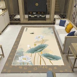 新中式地毯客厅卧室沙发茶几垫床边书房长方形家用古典现代简约毯
