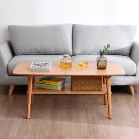 北欧双层小户型现代简约客厅桌子