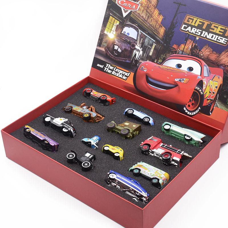 赛车总动员合金小汽车模型玩具礼盒套装 闪电麦昆儿童男孩礼物