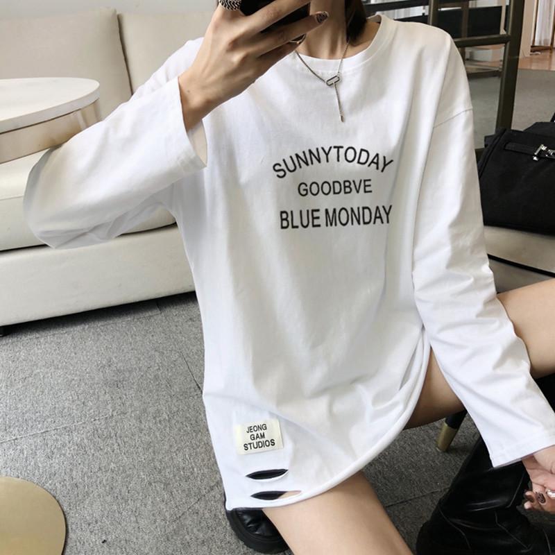 白色2021年春装新款洋气纯棉打底衫好用吗