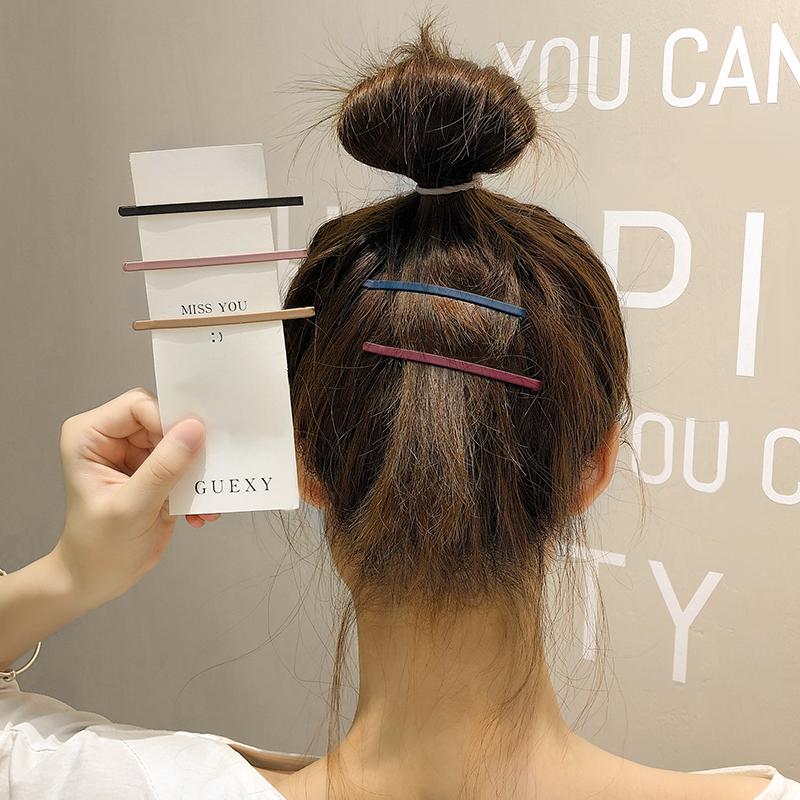 发夹后脑勺碎发整理神器后脑勺发卡头饰一字夹夹子卡子刘海夹侧边
