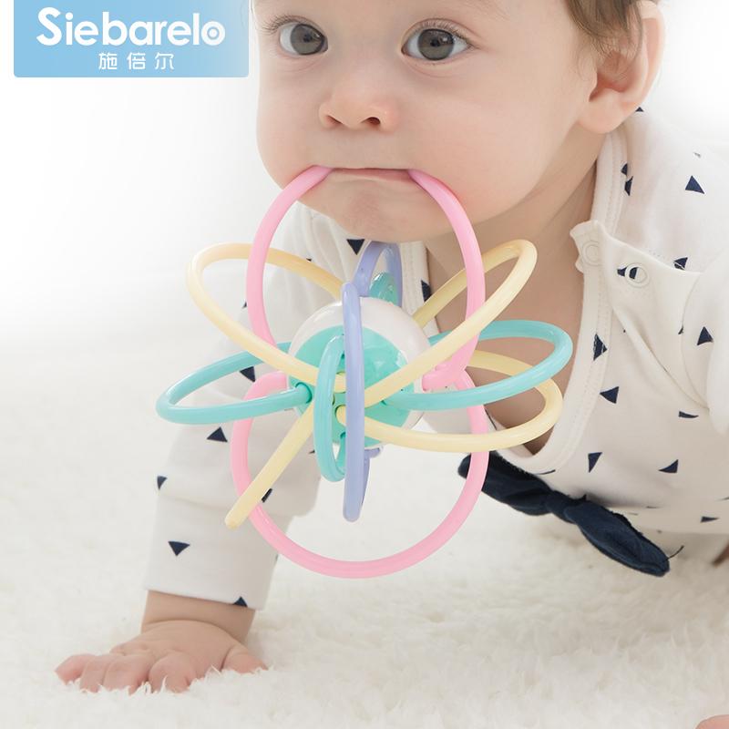 Применять время ваш ребенок прорезыватель молярный палка укусить резиновая рука погремушки обучения в раннем возрасте ребенок головоломка игрушка человек хохотать дейтон сцепление мяч