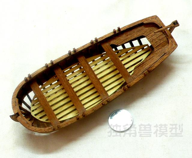 【ユニコーン】ドラロイ号のサプリメント:全肋骨22フィート船にボートを載せます。