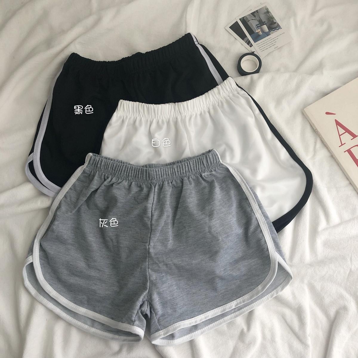 (用26.97元券)2019夏季新款韩版防走光阔腿打底裤