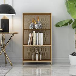 铁艺床头柜置物架多层落地式家用卧室金属书架客厅沙发边几收纳架