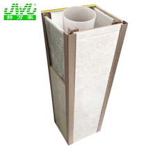 Bathroom New tube tile bracket bottom pipe decoration corner pipe tile fixing bracket soundproof guard Plate