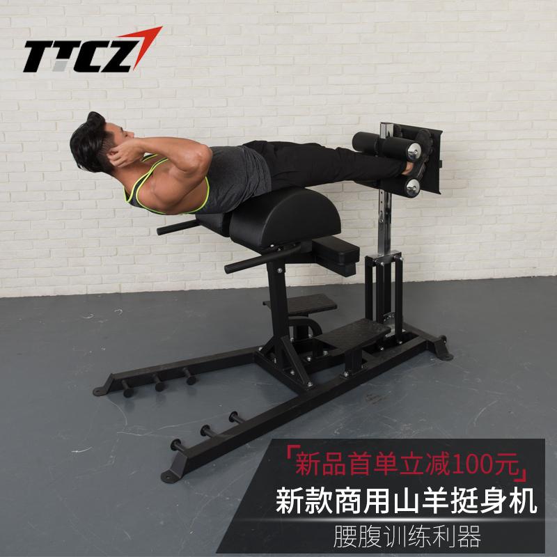TTCZ商用罗马椅GHD多功能腰背腹肌训练山羊挺身机腰部力量训练