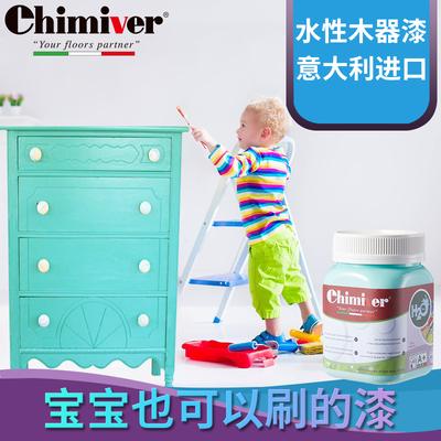 水性木器漆翻新改色家具实木门衣柜白清木漆家用自刷环保油漆涂料