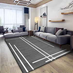 北欧风ins风纯色现代简约卧室地垫