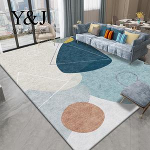 客厅地毯卧室茶几垫满铺可爱ins网红北欧房间学生宿舍民宿床边毯