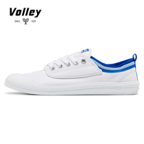 Volley big children shoes 34 yards small white shoes student canvas shoes Junior high School shoes male teen female Chinese Big Boy