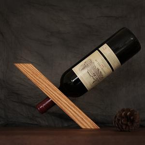 实木摆件红酒架家用欧式红酒架摆件创意葡萄酒架收纳置物简约