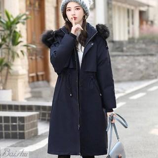棉衣2019年冬季新款女装韩版宽松派克服中长款羽绒棉服棉袄外套潮