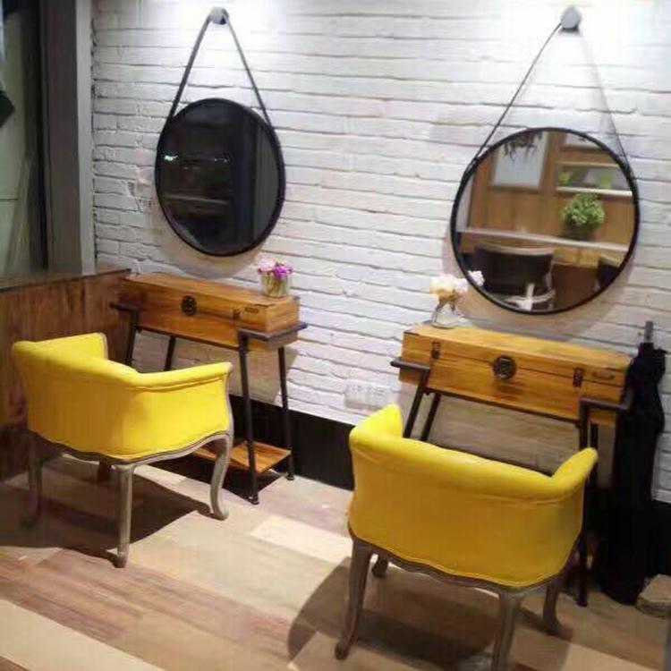 Волна магазин стрижка магазин зеркало тайвань парикмахерское дело магазин салон специальный ножницы волосы зеркало один ретро настенный стиль краситель горячей выход модель