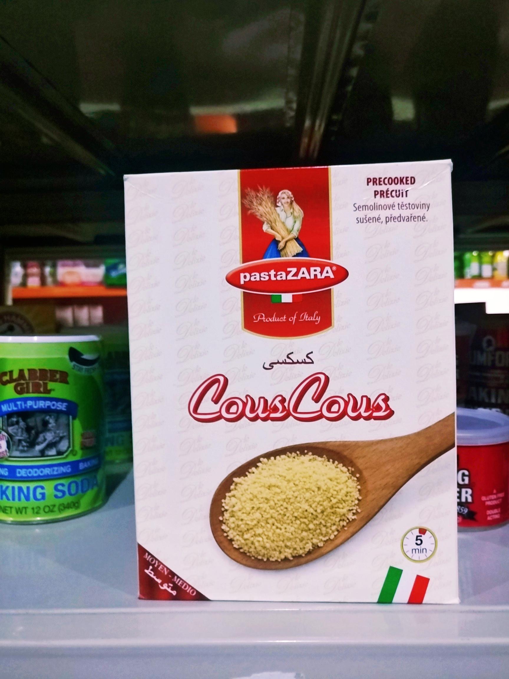 包邮厨乐186号地中海粟米Pasta Zara Couscous 500g