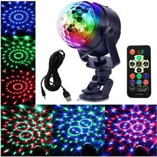地推热卖充电USB彩灯电池款闪灯七彩灯客厅家用直播背景装饰球灯