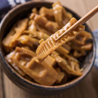 Продукты из бамбука,  Довольно волна специальный свойство масло Побеги бамбука что еда мое бамбук Побег бамбука следующий рис блюдо прохладно блюдо Побег бамбука сухой Побег бамбука провод весна Бамбуковая стрельба 397 грамм X3 бак глава наряд, цена 254 руб