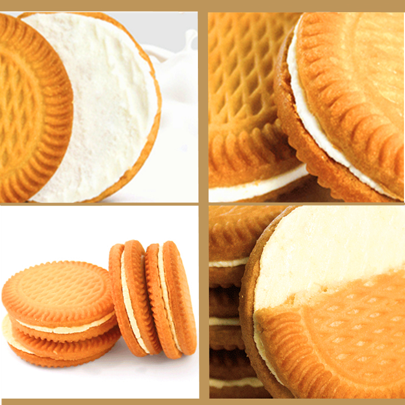 Lao Shi Ren cream sandwich biscuit whole box whole box fruit chocolate cookie breakfast snack cake