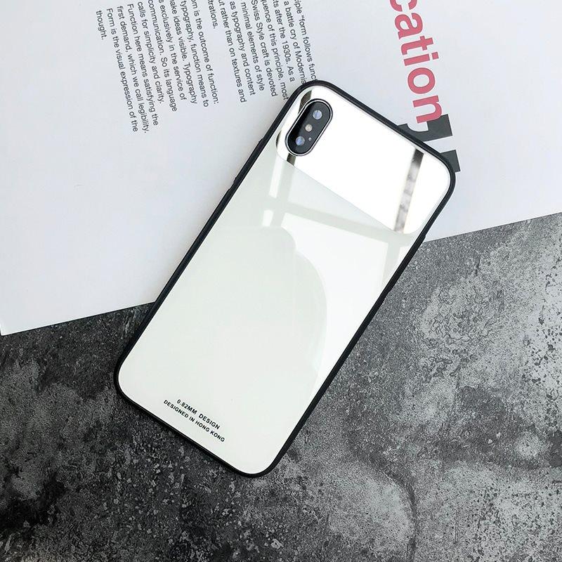 苹果7plus镜子手机壳8p新款玻璃全包iPhoneX保护套6s个性女款