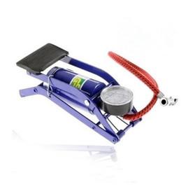 脚踩打汽筒脚踏充气泵自行车/电动车/摩托车高压打气筒家用便携式