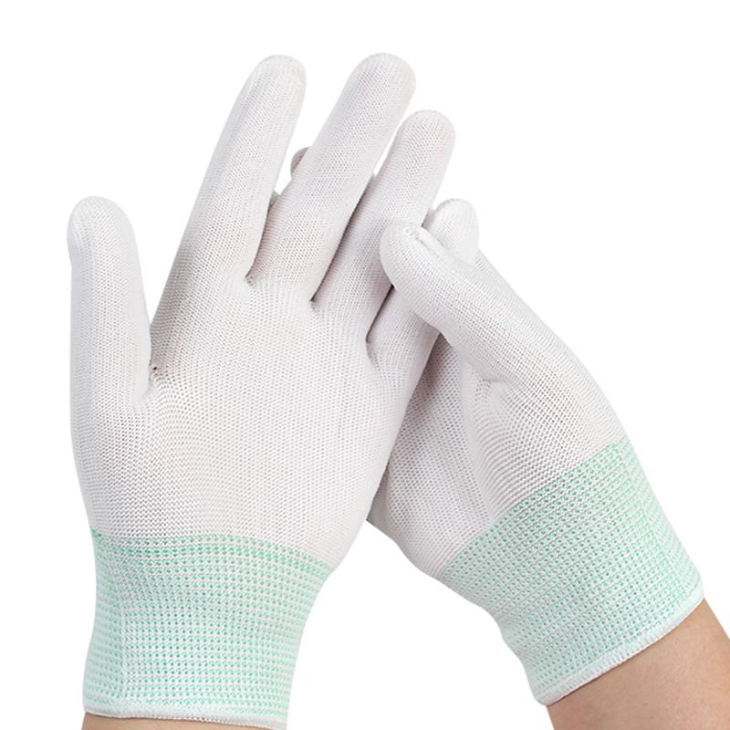 36双夏季超薄款尼龙线透气工作手套