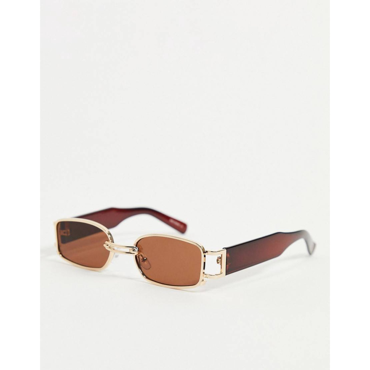 My accessories London Square lenses Brown Sunglasses Gold luxury goods