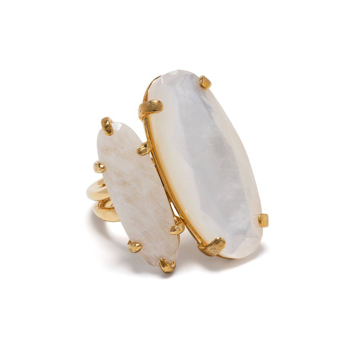 Purchasing Wouters Hendrix mother of Pearl moon feldspar ring for women 2021 new luxury