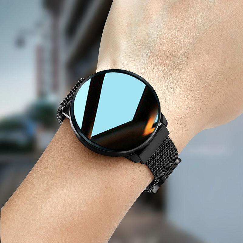 圆屏智能手表男士多功能闹钟计步运动手环女学生小米华为vivo通用