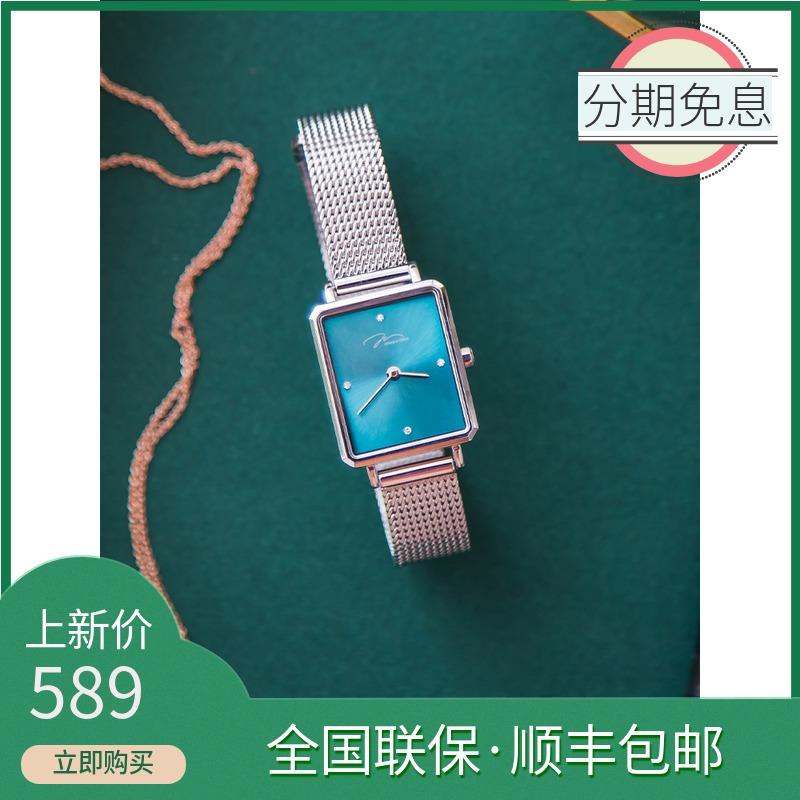飞亚达手表唯路时女士手表时尚潮流方形小表盘米兰女表腕表石英