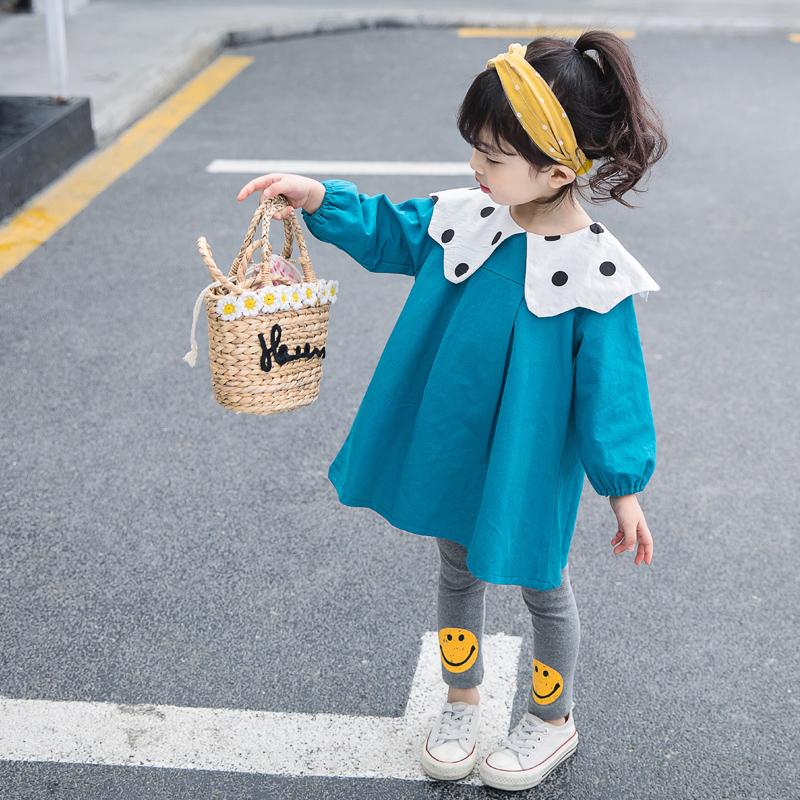 女宝宝新款春装1一岁女孩2连衣裙11-18新券