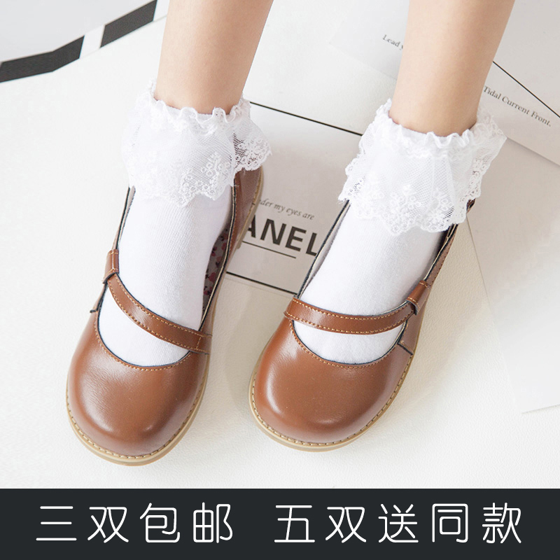 Japanese Lolita socks lace Lolita shoes socks Princess lovely soft girl fairy socks dance socks